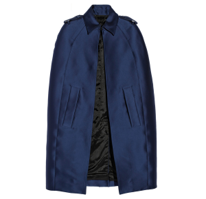 Burberry Prorsum-Satin cape $1,038